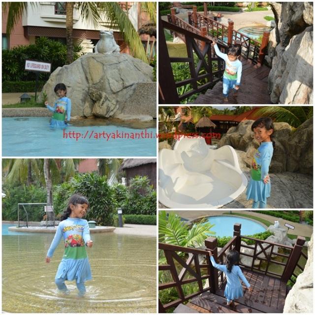 kolam renang anak anak  holiday inn batam