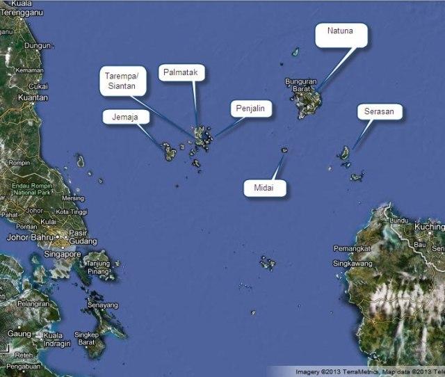 Peta Tarempa